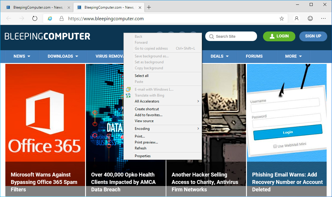 Internet Explorer Mode Now Works in Microsoft Edge Dev Builds
