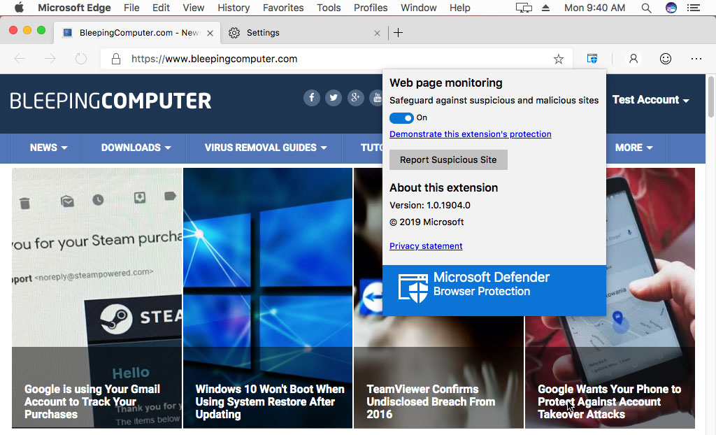 Microsoft Officially Releases Microsoft Edge for Mac