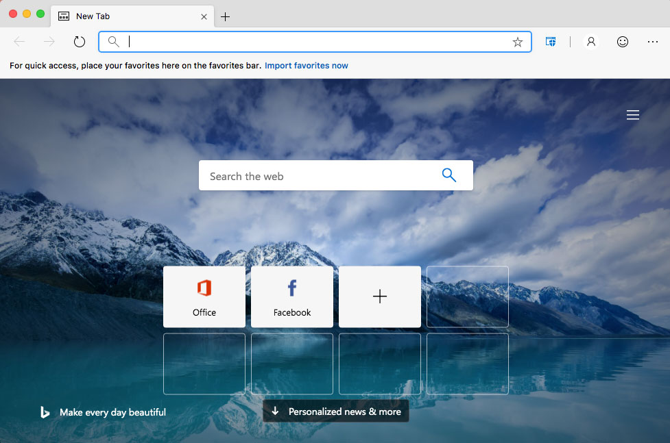 Microsoft Edge for Mac Leaked, Includes Browser Protection