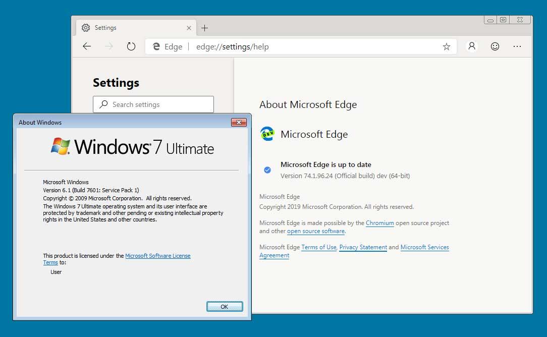Windows 10 Microsoft Edge Installer Also Works on Windows 7
