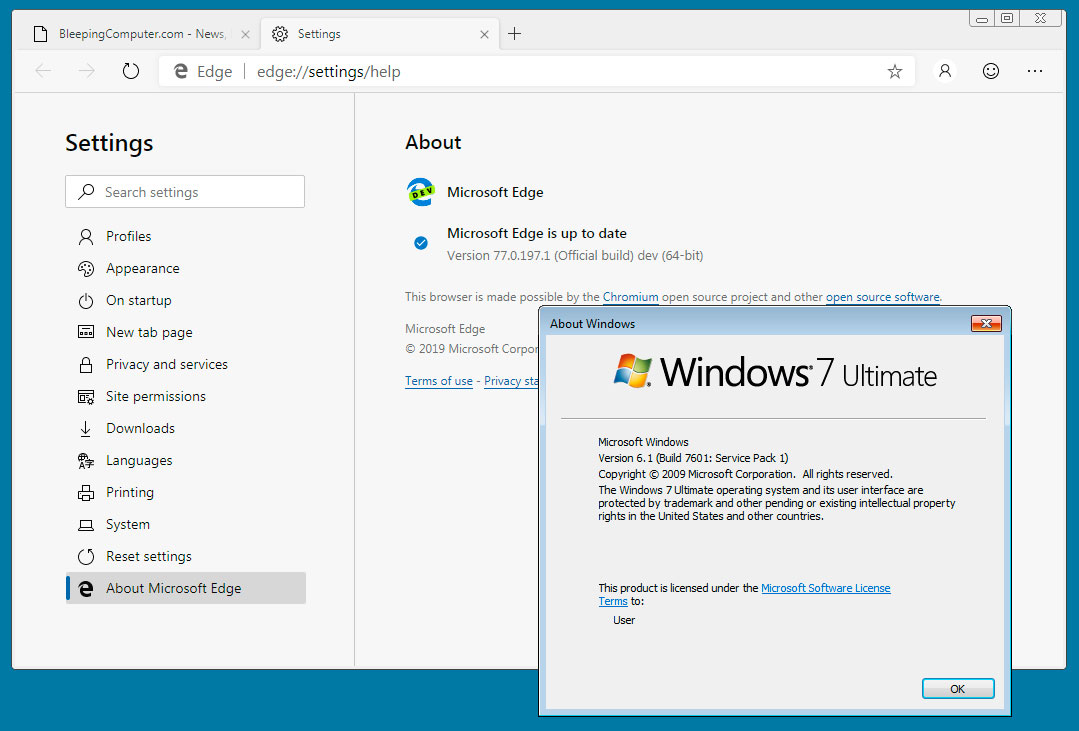 Microsoft Edge Dev Build Now Available for Windows 7, 8, and 8 1
