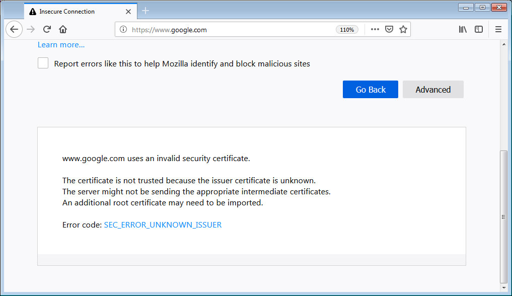 Mozilla Halts Firefox 65 Rollout Due to Insecure Certificate