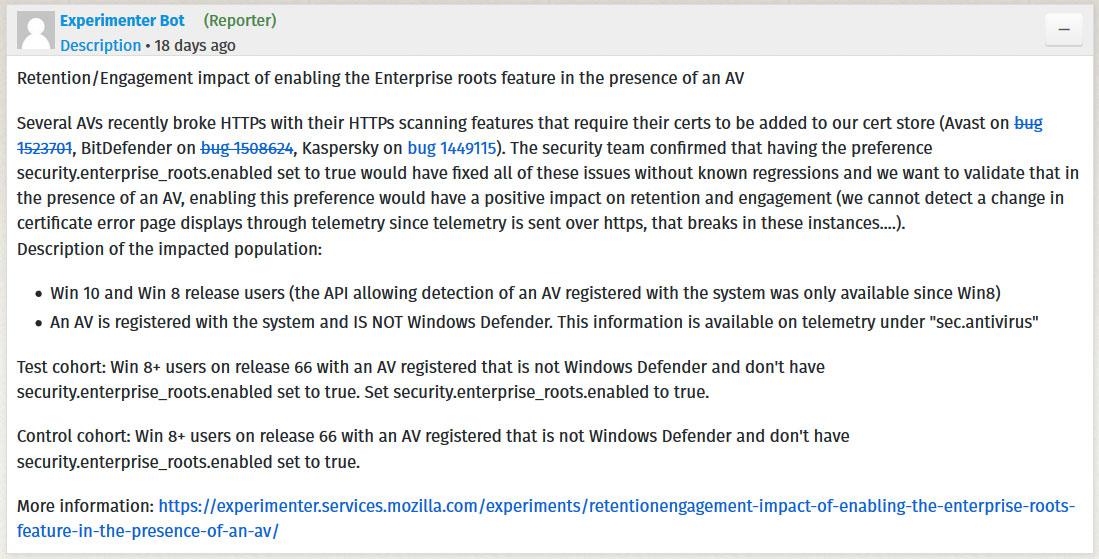 Firefox to Import Windows Root Certs To Avoid Antivirus SSL