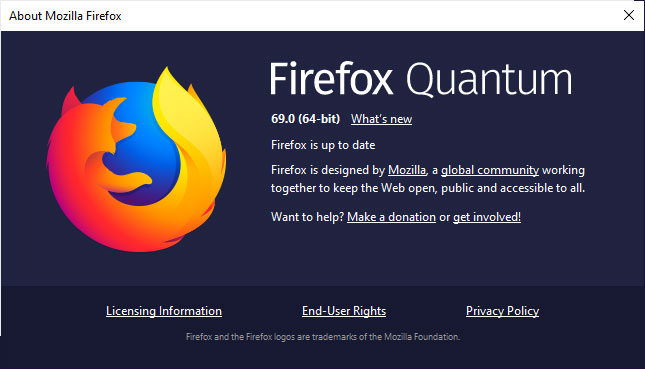 Firefox 69 Released with Enhanced Tracking Protection and