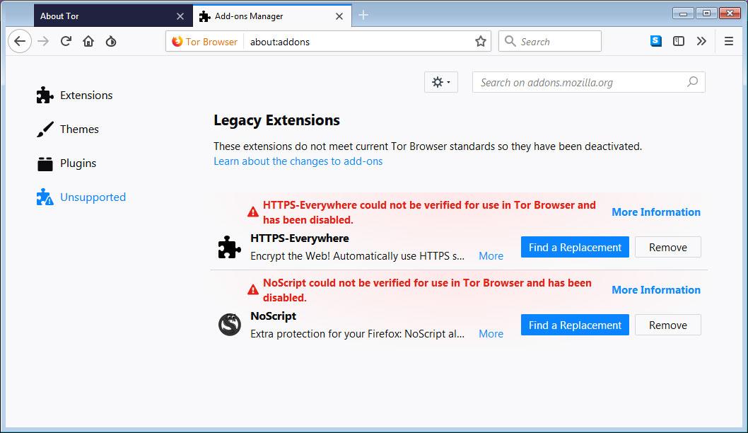 no script tor browser гирда