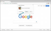 How to Remove a Google Chrome Extension Image