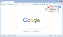 How to Remove a Button from the Firefox Toolbar Image