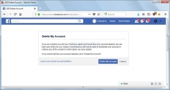 How to Delete Your Facebook Account Image