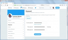 How to Change Your Twitter Password Image