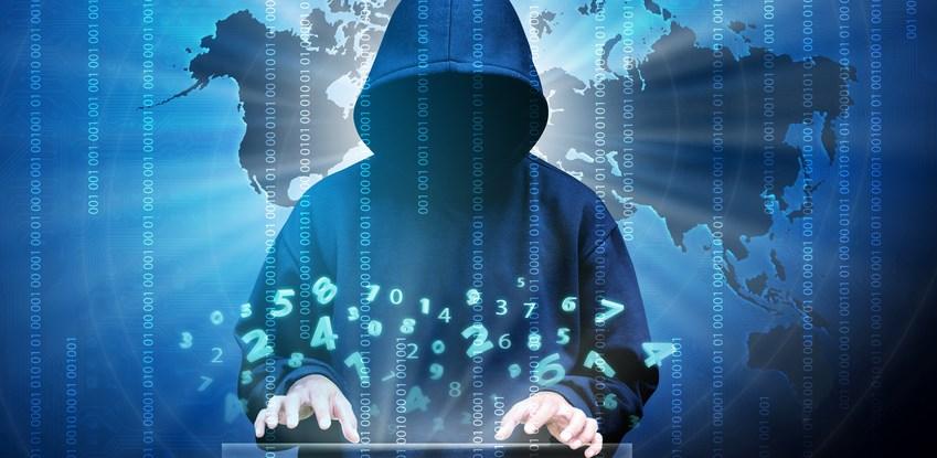 Generic hacker in a hoodie