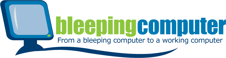 BleepingComputer logo with tagline