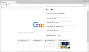 Remove the Bitcoins to live Chrome Extension Image
