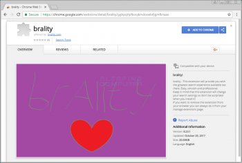 Brality Chrome Extension Image