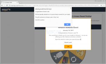 Congratulations Amazon User Web Page Image