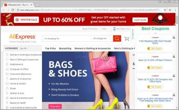 Remove Coupons Bar Ads From Web Sites Image