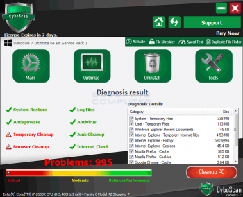How to Remove CyboScan PC Optimizer Image