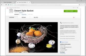 Desert Style Basket Chrome Extension Image