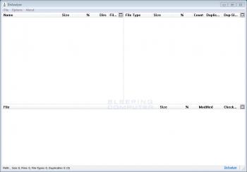 DirAnalyze Disk Optimizer Screenshot