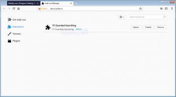 FF Guarded Searching Firefox Addon Image