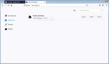 Firefox Antivirus Firefox Addon Image