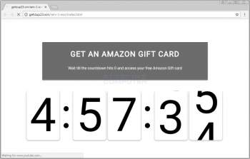 Remove the Get an Amazon Gift Card Ad Image