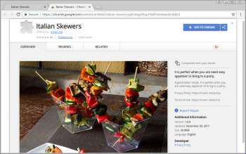 Italian Skewers Chrome Extension Image