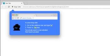 Keep Safe Chrome Extension Image