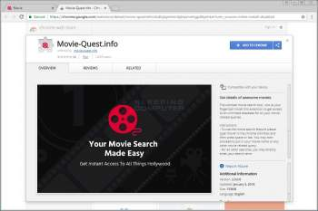 Movie-Quest.info Chrome Extension Image