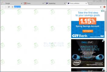 Msiql.exe Adware Screenshot
