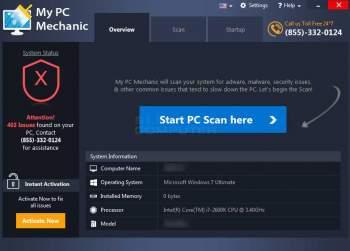 My PC Mechanic System Optimizer PUP Image