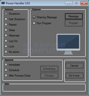Power Handler Adware Image
