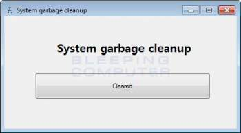 Quick_cleaner & System Garbage Cleanup PUP Image