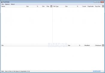 ScanFolder Disk Optimizer Screenshot