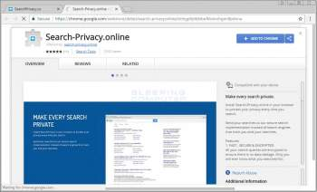 Search-Privacy.online Chrome Extension Image