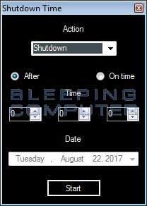 Remove the Shutdown Time or ShutdownTime Adware Image