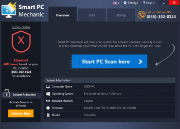 Remove the Smart PC Mechanic PUP Image