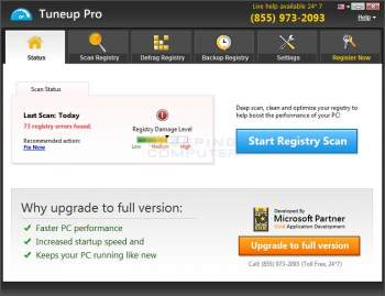 Remove the Tuneup Pro System Optimization PUP Image