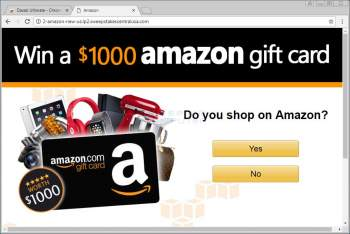 Win a $1000 amazon gift card Page Image