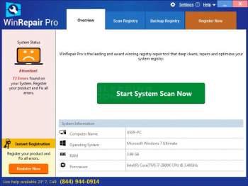 WinRepair Pro  Image