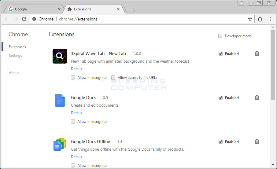 how to install chrome extensions manually