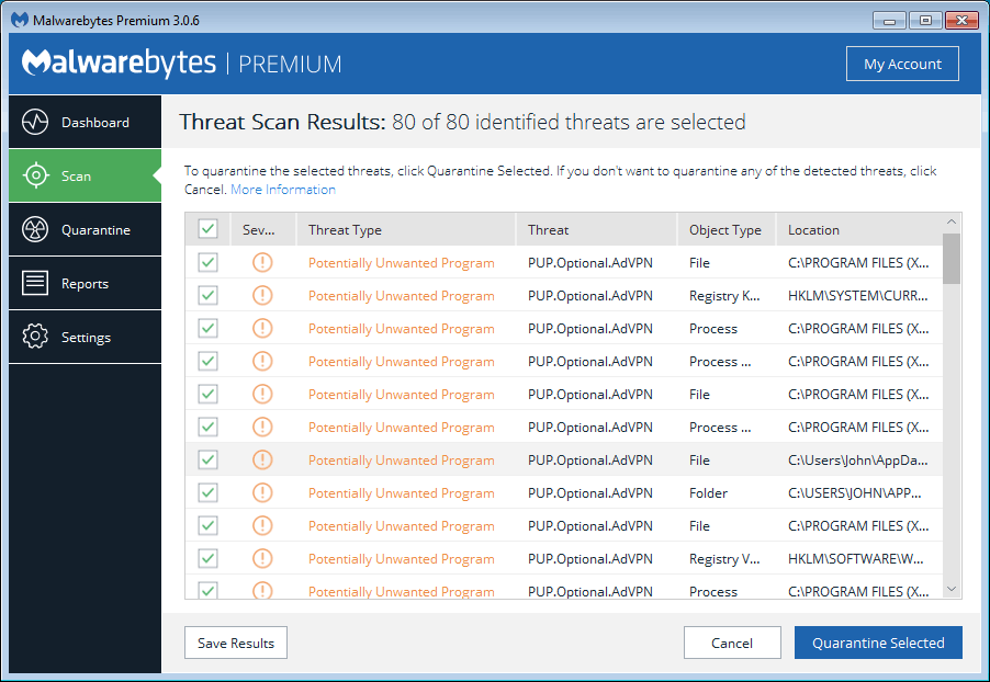 Remove the AdVPN Adware (Removal Guide)