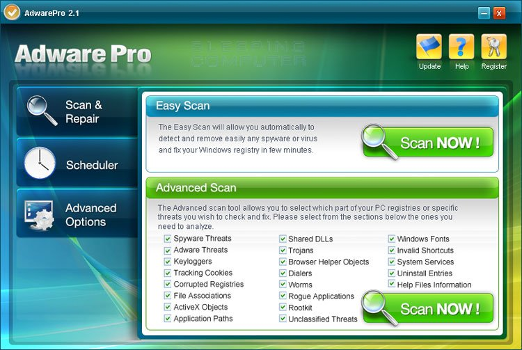 Adware Pro screen shot