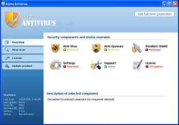 Alpha Antivirus Image