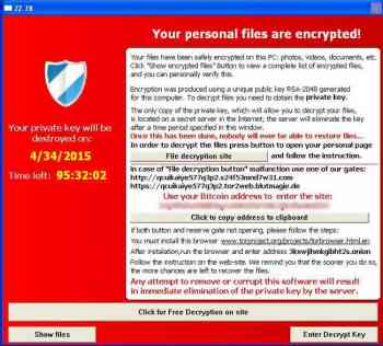 TeslaCrypt and Alpha Crypt Image