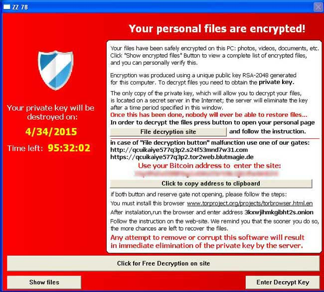 TeslaCrypt and Alpha Crypt Ransomware Information Guide and FAQ