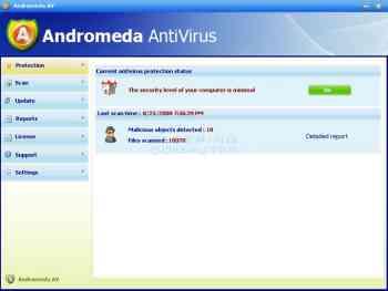 Andromeda AntiVirus Image