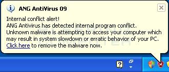 False Security Alert #2