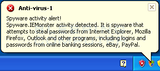 Fake Security Alert #1