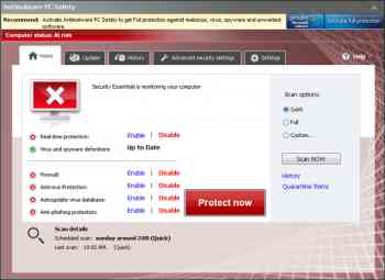Antimalware PC Safety Image