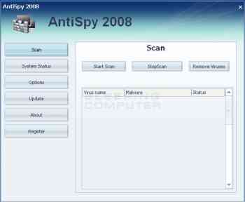AntiSpy 2008 Image